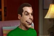 Sheldon Cooper - 3D Caricature