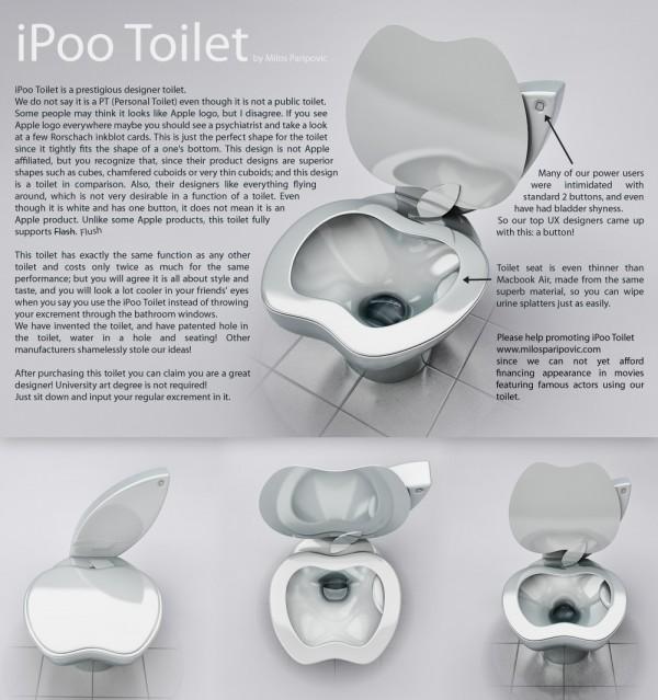 iPoo Toilet Poster